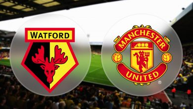 Man United vs Watford